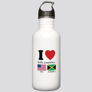 USA-JAMAICA Stainless Water Bottle 1.0L