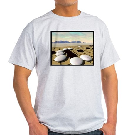Ash Grey T-Shirt: Crane's Nest