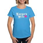 Lawyer's Wife Women's Dark T-Shirt