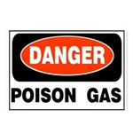 Poison Gas Postcards (Package of 8)