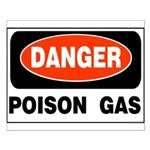 Poison Gas Small Poster