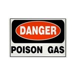 Poison Gas Rectangle Magnet (100 pack)