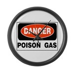 Poison Gas Large Wall Clock