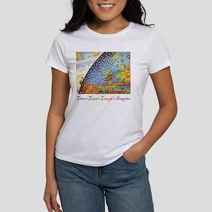 Live Love Laugh Imagine Women's T-Shirt