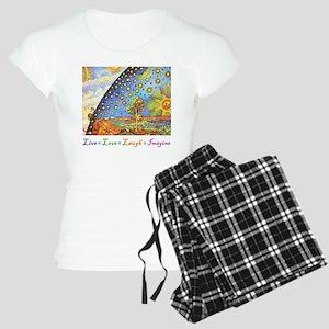 Live Love Laugh Imagine Women's Light Pajamas