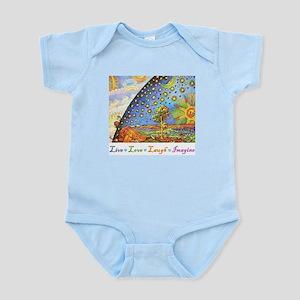 Live Love Laugh Imagine Infant Bodysuit