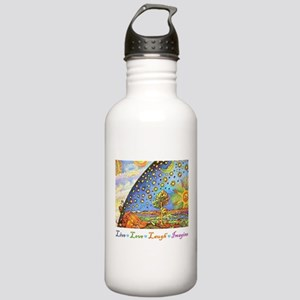 Live Love Laugh Imagine Stainless Water Bottle 1.0