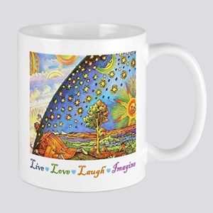 Live Love Laugh Imagine Mug