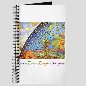 Live Love Laugh Imagine Journal