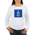 KEEPCALM10X10 Long Sleeve T-Shirt