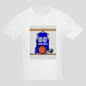 Personalized Basketball Jerse Kids Light T-Shirt