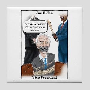 """Crazy Uncle Joe 2"" Tile Coaster"