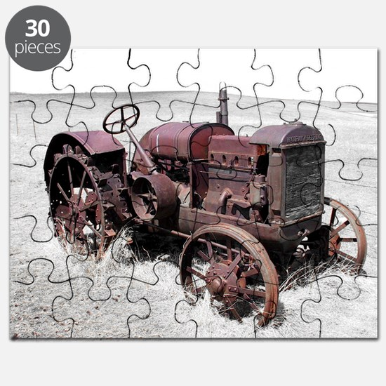 Old, Rusted Tractor Puzzle