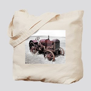 Old, Rusted Tractor Tote Bag