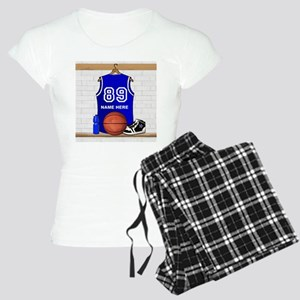 Personalized Basketball Jerse Women's Light Pajama