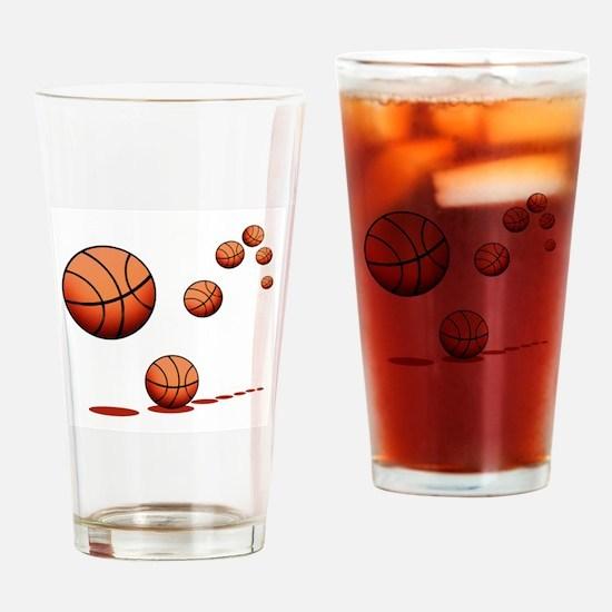 Basketball (A) Drinking Glass