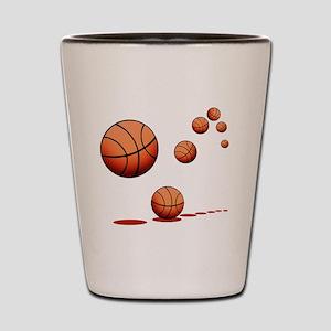Basketball (A) Shot Glass