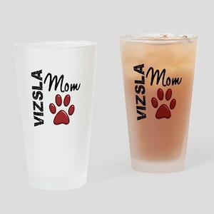 Vizsla Mom 2 Drinking Glass