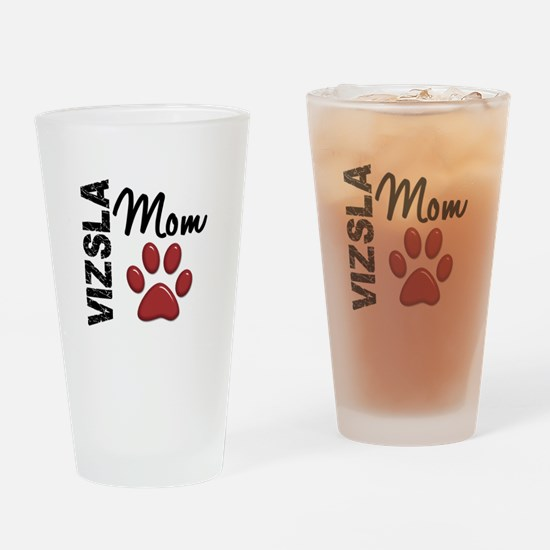 Vizsla Mom 2 Drinking Glass