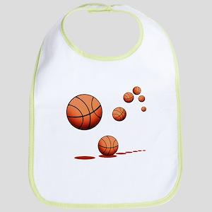 Basketball (A) Cotton Baby Bib