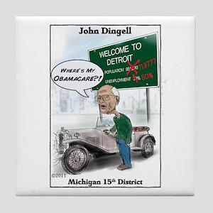 """Dingle 2"" Tile Coaster"