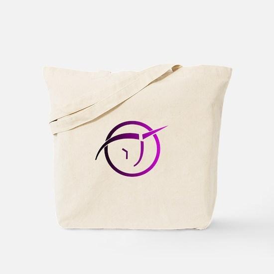 Invisible Pink Unicorn Tote Bag