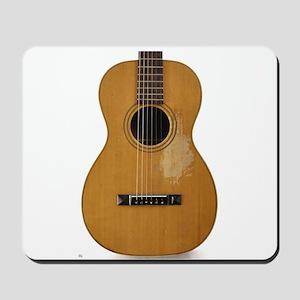 Old, Parlor Guitar Mousepad