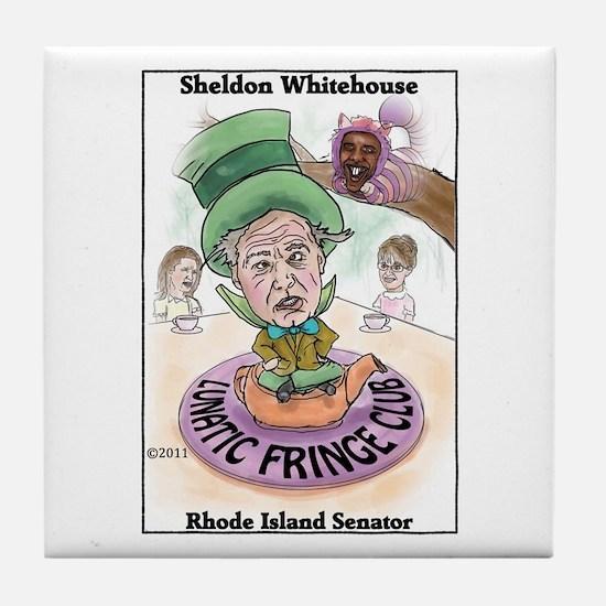 """""""Lunatic Fringe 2"""" Tile Coaster"""