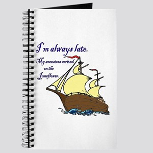 I'm always late Journal