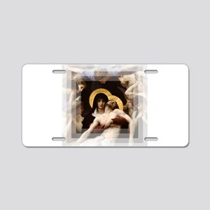 Pieta Aluminum License Plate