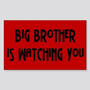 big brother... Rectangle Sticker