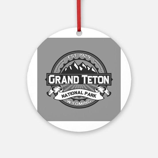 Grand Teton Ansel Adams Ornament (Round)