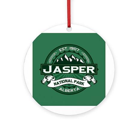 Jasper Forest Ornament (Round)