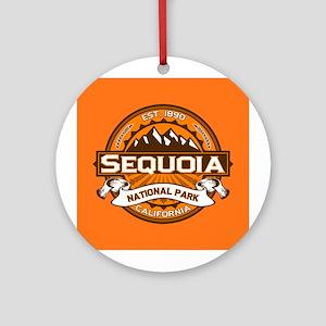 Sequoia Pumpkin Ornament (Round)