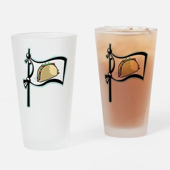 Taco!! Drinking Glass