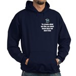 What We Like Hoodie (dark)