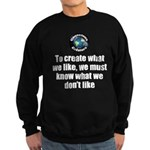 What We Like Sweatshirt (dark)