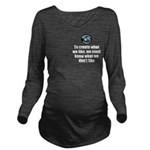What We Like Long Sleeve Maternity T-Shirt