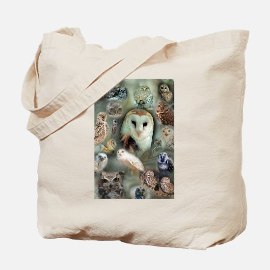 Happy Owls Tote Bag