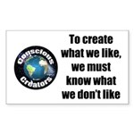 What We Like Sticker (Rectangle 50 pk)