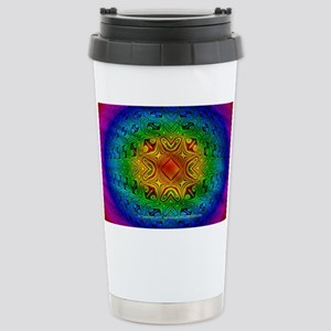 Polychrome Bubble - Stainless Steel Travel Mug