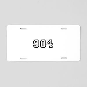 904 Aluminum License Plate