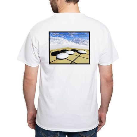 White T-Shirt: Nadare w/ Quote