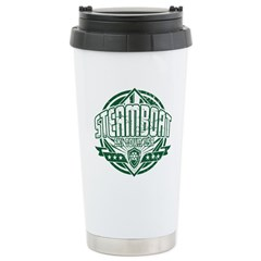 Steamboat Old Square Stainless Steel Travel Mug