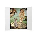 Venus - Yellow Lab #7 Throw Blanket