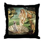 Venus - Yellow Lab #7 Throw Pillow