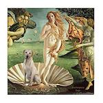 Venus - Yellow Lab #7 Tile Coaster