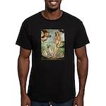 Venus - Yellow Lab #7 Men's Fitted T-Shirt (dark)