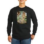 Venus - Yellow Lab #7 Long Sleeve Dark T-Shirt