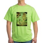 Venus - Yellow Lab #7 Green T-Shirt